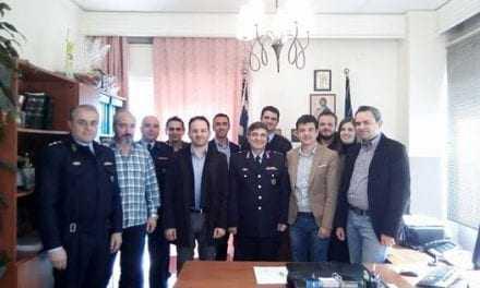 «Επίσκεψη του Διοικητικού Συμβουλίου της Ένωσης Αξιωματικών Α.Μ.Θ. στην Διεύθυνση Αστυνομίας Αλεξανδρούπολης»
