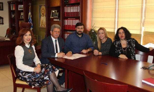 Πρωτόκολλο συνεργασίας του Αντιπεριφερειάρχη Π.Ε. Δράμας με την EN.O.GREECE