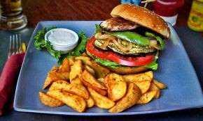 Burger νηστίσιμο και νόστιμο