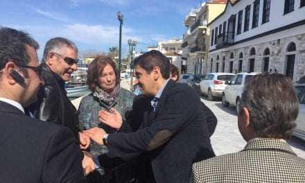 Αυγενάκης από Θάσο: «Όσο το συντομότερο έρθει η πολιτική αλλαγή τόσο το καλύτερο για την Ελλάδα»