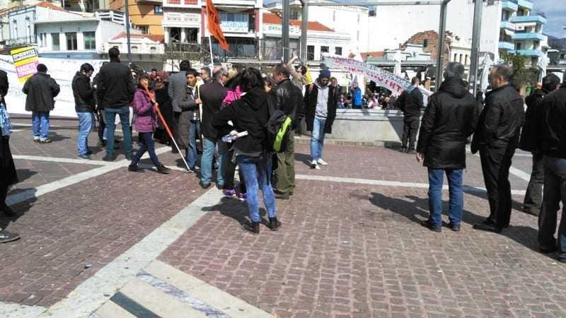 Παρέλυσε η Ξάνθη από την αντιρατσιστική πορεία 20 ατόμων