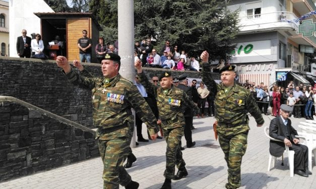 ΦΩΤΟΡΕΠΟΡΤΑΖ/ Στρατιωτική παρέλαση στην Ξάνθη-25η Μαρτίου 2017. Συμμετοχή Εθνοφυλάκων