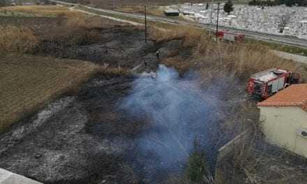ΚΟΜΟΤΗΝΗ Φωτιά σε οικόπεδο κινητοποίησε την Πυροσβεστική Υπηρεσία