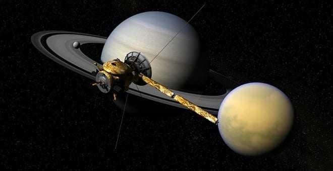 Τελευταία «μακροβούτια» στον Κρόνο για το Cassini