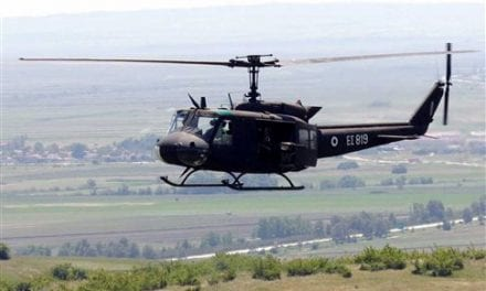 Χάθηκε το στίγμα στρατιωτικού ελικοπτέρου με πέντε επιβαίνοντες