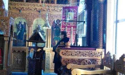 Η κυρία Μάρθα αναπληρώτρια ψάλτης στον Ιερό Ναό του Αγίου Γεωργίου Κουτσού Ξάνθης (ΒΙΝΤΕΟ)