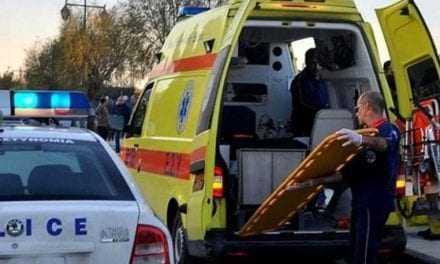 Απεγγλωβίστηκε ο οδηγός   που βγήκε από τόν δρόμο στο Δασοχώρι