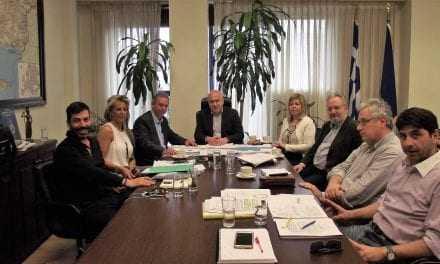 Συνάντηση του Περιφερειάρχη ΑΜΘ με τον Πρόεδρο της Εταιρείας Ακινήτων Δημοσίου
