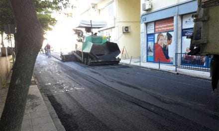 Ασφαλτοστρώσεις από τον Δήμο Ξάνθης