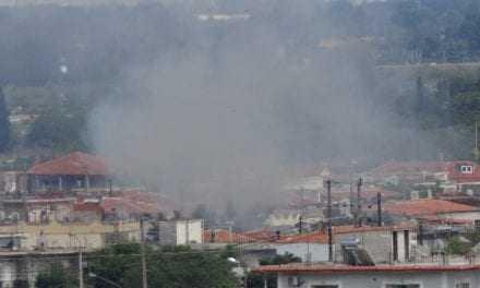 ΣΥΜΒΑΙΝΕΙ ΤΩΡΑ: Πυρκαγιά στο Δροσερό