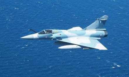 Έπεσε mirage 2000 στο Αιγαίο. Σώος ο πιλότος