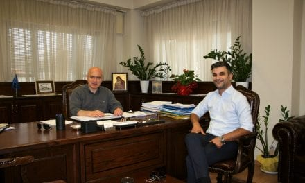 Συνάντηση του Περιφερειάρχη ΑΜΘ με τον Δήμαρχο Δοξάτου