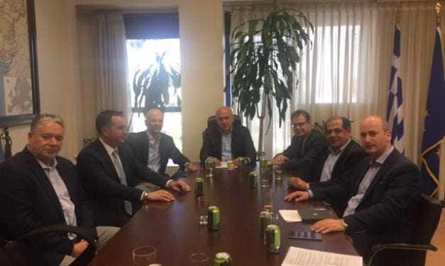 Συνάντηση του Περιφερειάρχη ΑΜΘ με τον Πρόεδρο του ΔΣ του Συνδέσμου Ελληνικών Τουριστικών Επιχειρήσεων (ΣΕΤΕ)