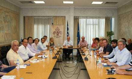 Σύσκεψη του Περιφερειάρχη ΑΜΘ με τον Πρόεδρο του ΕΛΓΑ