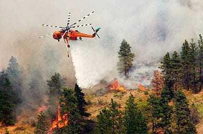 Δεν είναι έτοιμη η κυβέρνηση να αντιμετωπίσει τις πυρκαγιές από αέρος