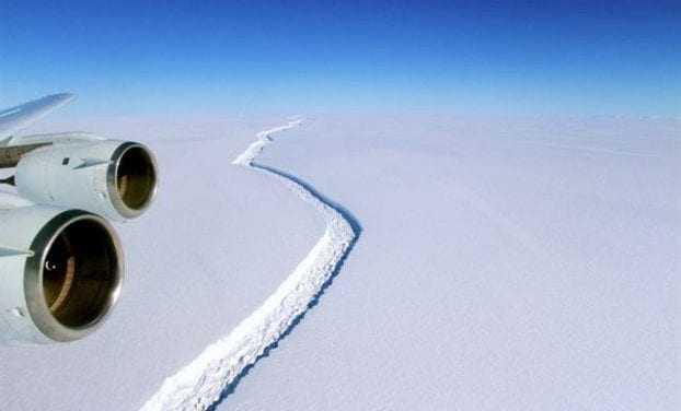 Ανταρκτική: Αντίστροφη μέτρηση για ιστορική κατάρρευση παγετώνα!