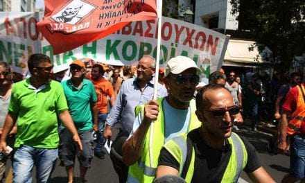 Πορεία της ΠΟΕ-ΟΤΑ προς τη Βουλή