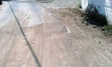 Λακκούβες στο έργο της ΔΕΥΑΞ στα Κιμέρια
