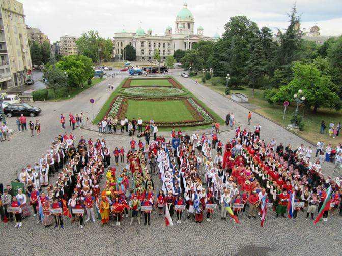 Συμμετοχή του Λυκείου των Ελληνίδων Ξάνθης στο Παγκόσμιο Χορευτικό Φεστιβάλ του Βελιγραδίου και η διάκρισή του