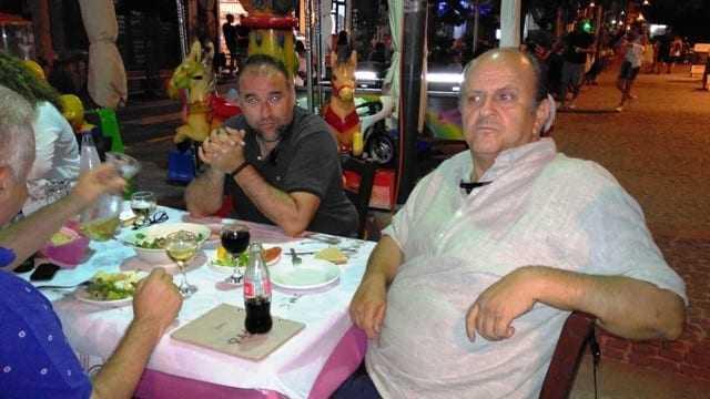 Ι. Καμαρίδης και Π. Λύρατζης δύο αντίπαλοι στο ίδιο τραπέζι