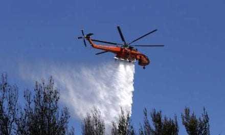 Σουφλί: Μεγάλη φωτιά στο Εθνικό Πάρκο Δαδιάς -4 αεροσκάφη στην κατάσβεση
