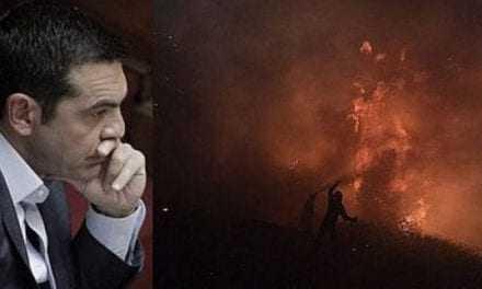 Η Ελλάδα καίγεται και ο Τσίπρας δίνει εντολές μέσω … twitter