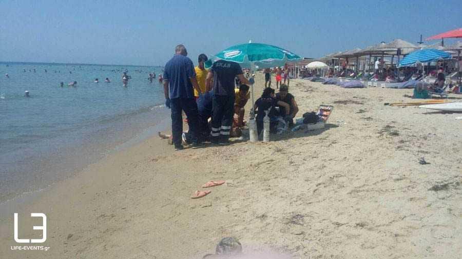 Ανδρας ανασύρθηκε νεκρός σε παραλία της Επανομής