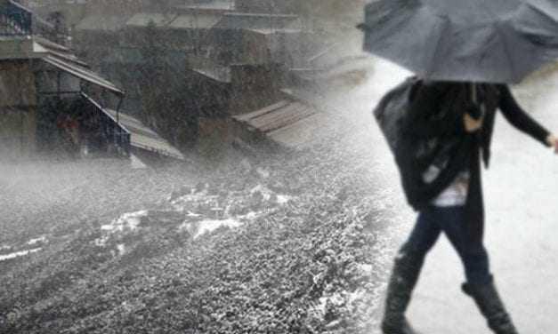 Μετά τον καύσωνα, καταιγίδες, χαλάζι και μποφόρ στην Ελλάδα