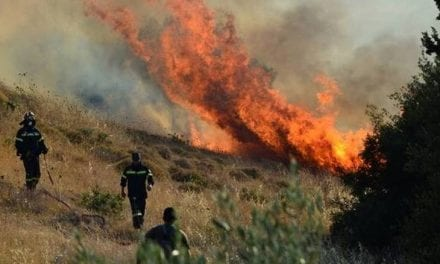 """Στο """"κόκκινο"""" για πυρκαγιά η Ελλάδα/Πολιτική Προστασία προειδοποιεί"""