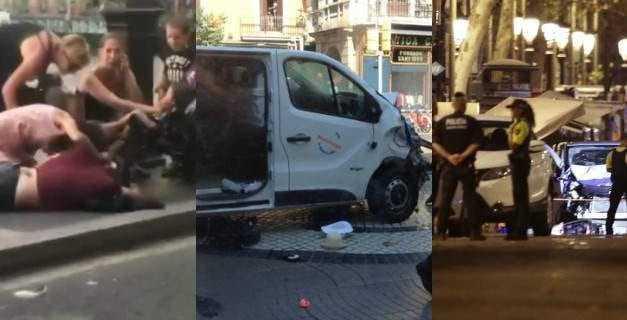 Ο τρόμος επέστρεψε -13 νεκροί, πάνω από 100 τραυματίες στη Βαρκελώνη [εικόνες & βίντεο]
