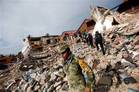 Μεξικό: 65 νεκροί και πάνω από 200 τραυματίες από τον σεισμό