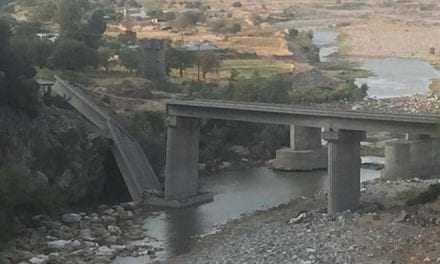Ερώτηση σχετικά με την κατάρρευση γέφυρας στην Θράκη