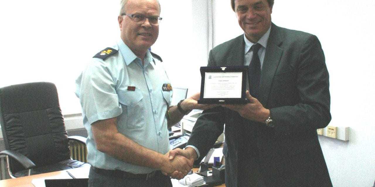 Δωρεά αλεξίσφαιρων γιλέκων και μηχανογραφικού εξοπλισμού για τις ανάγκες των Υπηρεσιών της Διεύθυνσης Αστυνομίας Καβάλας από την εταιρεία «Energean oil & gas»