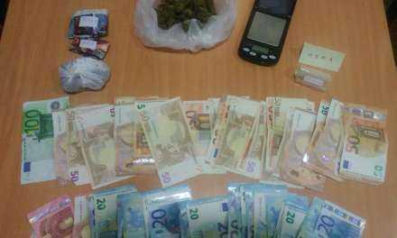 Συνελήφθησαν 2 άτομακατηγορούμενοι κατά περίπτωση για πώληση, αγορά και κατοχή ναρκωτικών