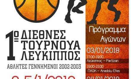 Μ. Σαββίδης : «Οι στόχοι και το όραμα του Λεύκιππου, μας έχει ήδη ξεπεράσει».
