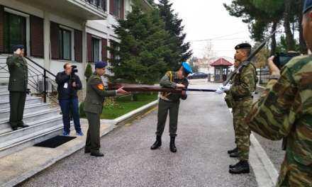 Το ΔΣΣ Στρατού υποδέχτηκε την πολεμική του σημαία.