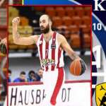 Stoiximan Basket League: Μεγάλο ντέρμπι ΑΕΚ-Ολυμπιακός στο ΟΑΚΑ  Πηγή: Σπορ | iefimerida.gr