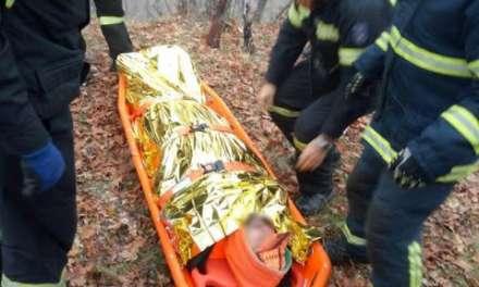 Τραυματίστηκε κυνηγός στα ορεινά της Ξάνθης. Τον έσωσε η πυροσβεστική