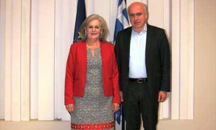 Η κ. Ελένη Δημούδη-Τζατζαΐρη νέα Πρόεδρος του Περιφερειακού Συμβουλίου ΑΜΘ