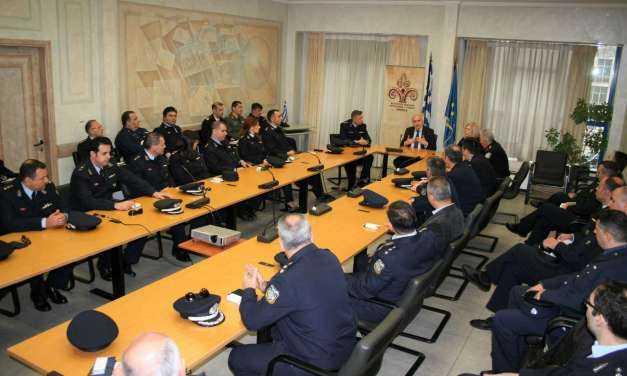Συνάντηση του Περιφερειάρχη ΑΜΘ με τους σπουδαστές της Σχολής Εθνικής Ασφάλειας της Ελληνικής Αστυνομίας