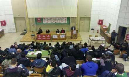 Κομματική εκδήλωση του ΚΚΕ στΟ Αμφιθέατρο  (ΠΡΟΚΑΤ)