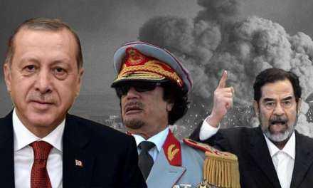 Στα χνάρια Σαντάμ και Καντάφι ο Ερντογάν