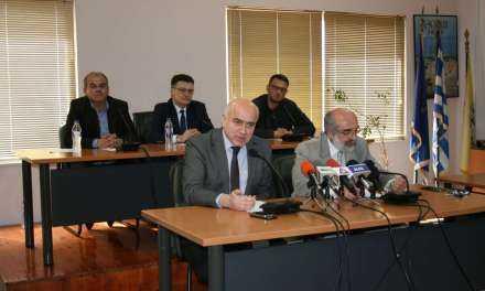 Κοινή συνέντευξη Τύπου Περιφερειάρχη ΑΜΘ και Δημάρχου Αλεξανδρούπολης για το νέο Λύκειο Φερών και ανακοινώσεις εντάξεων έργων για την Παιδεία