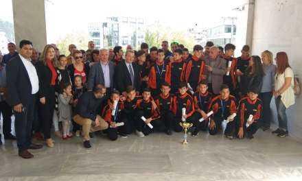 Στον Δήμαρχο Ξάνθης οι Πρωταθλητές Ελλάδος