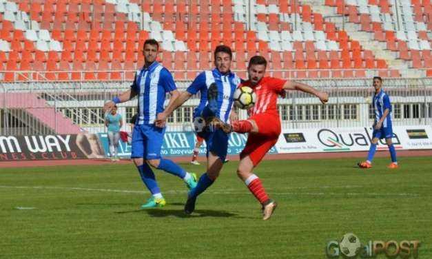 «Αφεντικό» στο ΕΑΚ ο Ολυμπιακός Βόλου, 2-0 τον Αλμυρό