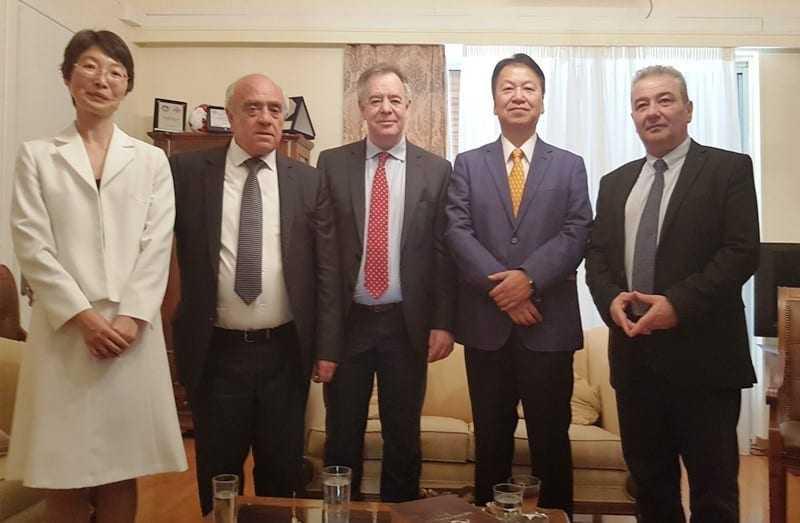 Τον Δήμαρχο Ξάνθης επισκέφθηκε ο Πρέσβης της Ιαπωνίας.