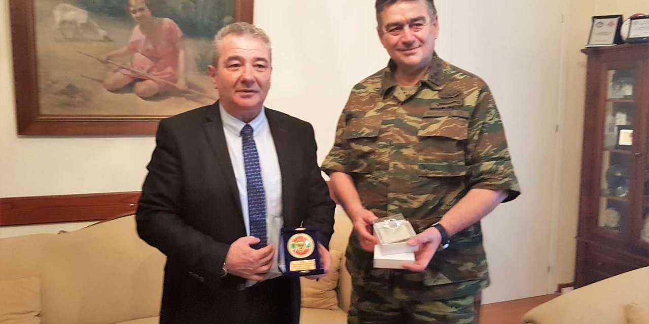 Στον Δήμαρχο Ξάνθης ο Γενικός Επιθεωρητής Στρατού – Υπαρχηγός ΓΕΣ