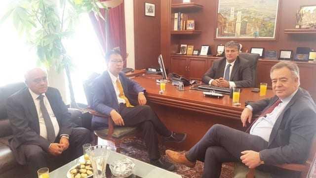 Επίσκεψη Ιάπωνα Πρέσβη στον Κ. Ζαγναφέρη