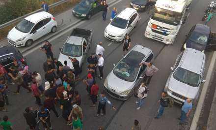 Διαμαρτυρία προσφύγων στις δομές φιλοξενίας Διαβατών (ΦΩΤΟ)