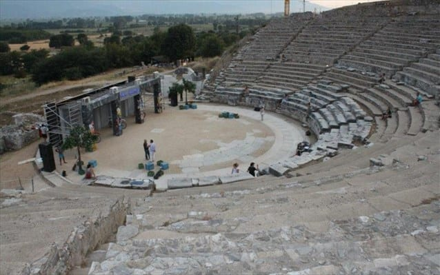 Με 2.3 εκ. ευρώ αναβαθμίζεται το αρχαίο θέατρο Φιλίππων
